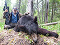 John Minore of Arizona with his 1st Black Bear. :: Spring 2014