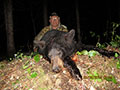 Rodney Johnson of North Dakota with his 3rd Black Bear in 3 consecutive years hunting with us. :: Spring 2014.