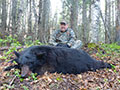Ron Werry of Pennsylvania with his 2nd consecutive Black Bear that he harvested with us. Ron harvested this bear on day 4 of his hunt, and he connected with a great Manitoba Black Bear.