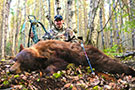 Richard Casement of Into The Wild TV with his Manitoba Color Phased Black Bear that he took with an Excalibur Crossbow. Watch Richards hunt on The Pursuit Channel and Wild TV this coming July 2014 :: Spring 2014