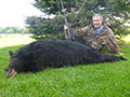 Dr. Stephen Minore of Rockford, Illinois with his 4th Black Bear that he has harvested with us, Steeprock River Outfitters. :: Spring 2014